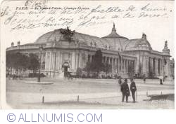 Paris - Marele Palat (Le Grand Palais) (1908)