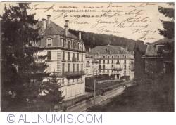 Image #1 of Plombières-les-Bains - Rue de la Gare. Les Grands Hôtels et les Thermes (1925)