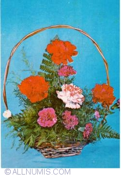 Image #1 of Basket with Flowers (1973)