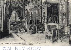 Imaginea #2 a Fontainebleau - Palatul - Dormitorul lui Napoleo I (Le palais - Chambre de Napoléon I-er)