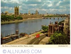 Image #1 of London - The Houses of Parliament and  River Thames