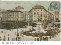 Image #1 of Genoa  - Piazza Corvetto (1906)
