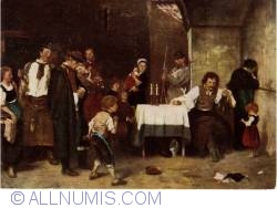 Image #1 of Budapest - Hungarian National Gallery - Mihaly Munkacsy - Celula condamnatului