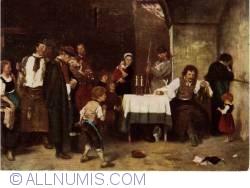 Image #2 of Budapest - Hungarian National Gallery - Mihaly Munkacsy - Celula condamnatului