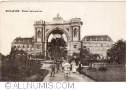 Budapest - East Railway Station (Keleti pályaudvar) (1928)