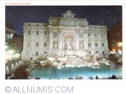 Image #2 of Rome  - Trevi Fountain at night