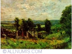 Image #1 of Milan (Modern Art Gallery) - Alfred  Sisley -  Wind and Sun (Vent et Soleil)