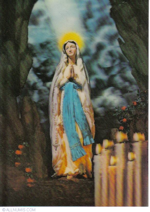 Японские стерео открытки религиозные