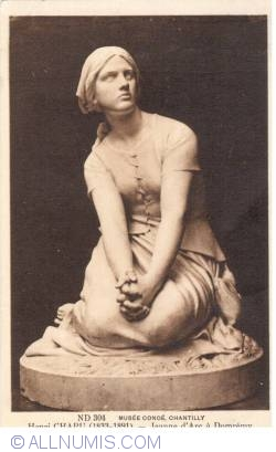 Image #1 of Chantilly - Conde Museum - Henri Chapu - Joan of Arc in Domremy (Musée Condé – Henri Chapu – Jeanne d'Arc à Domrémy)