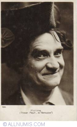 """Image #2 of Nicolas Koline as Tristan Fleuri in """"Napoléon"""""""