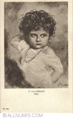 Image #2 of F. von Lenbach - Baby