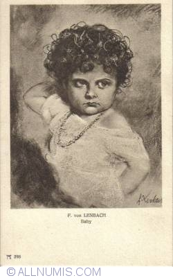 Image #1 of F. von Lenbach - Baby