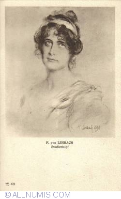 Image #2 of F. von Lenbach - Head Study (Studienkopf)