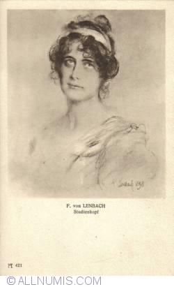 Image #1 of F. von Lenbach - Head Study (Studienkopf)
