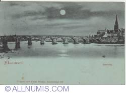 Image #1 of Maastrich - St. Servaasburg bridge on the Meuse (Mass)  - 1907
