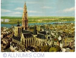 Image #1 of Antwerp - The cathedral and the river Scheldt (La cathedrale et l'Escaut)