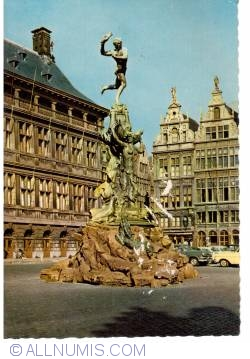 Antwerp - Grand Place and Brabo statue