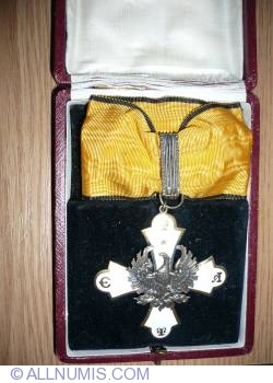 Image #1 of Silver Cross of the Order of the Phoenix - Type I (1926-1935)