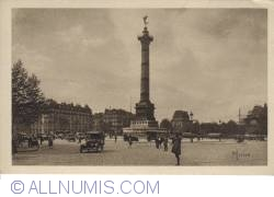 Image #2 of Paris - Bastille Square and Column of July - Place de la Bastille. Colonne de Juillet