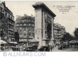 Imaginea #2 a Paris - Bulevardul şi Poarta St. Denis - Le Boulevard et la Porte St. Denis