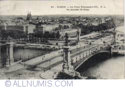 Image #1 of Paris - Alexandre III Bridge (Le pont Alexandre III)