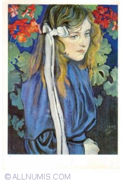 Image #2 of Stanisław Wyspiański - Portrait of Eliza Pareńska