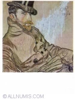 Image #1 of Stanisław Wyspiański - Portrait of Kazimierz Lewandowski