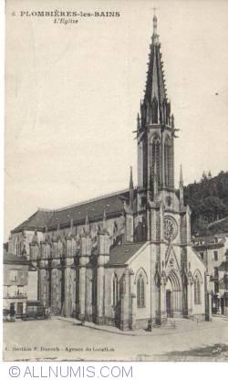 Plombières-les-Bains - The Church - L'Eglise