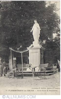 Image #1 of Plombières-les-Bains - The Statue Notre-Dame de Plombières - La Statue Notre-Dame de Plombières