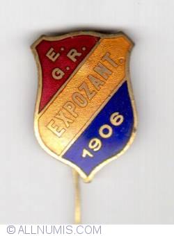 EXPOZITIA GENERALA ROMANA - EXPOZANT 1906