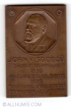 10th anniversary of the death of Joan V. Socecu