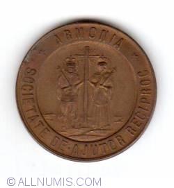 Image #1 of 25 anniversary societate de ajutor reciproc - Armonia 1882-1907
