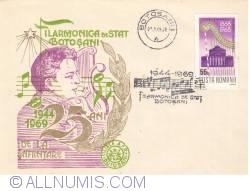 Image #1 of Botosani State Philharmonic - 25 years of existence (1944-1969)