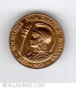 Image #1 of Societatea numismatică română 1983