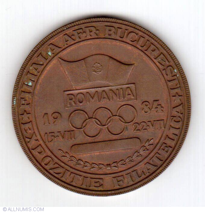 Los Angeles 1984 Summer Olympics Souvenir Romania