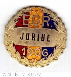 EXPOZITIA GENERALA ROMANA. 1906 - JURIU