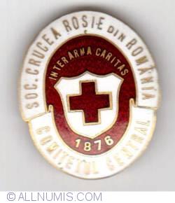 SOC.CRUCE ROSIE DIN ROMANIA - COMITETUL CENTRAL - 1876