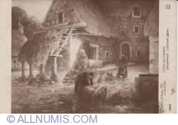 Image #1 of Salon d hiver - Ch Rivière - Cour de ferme - 1912