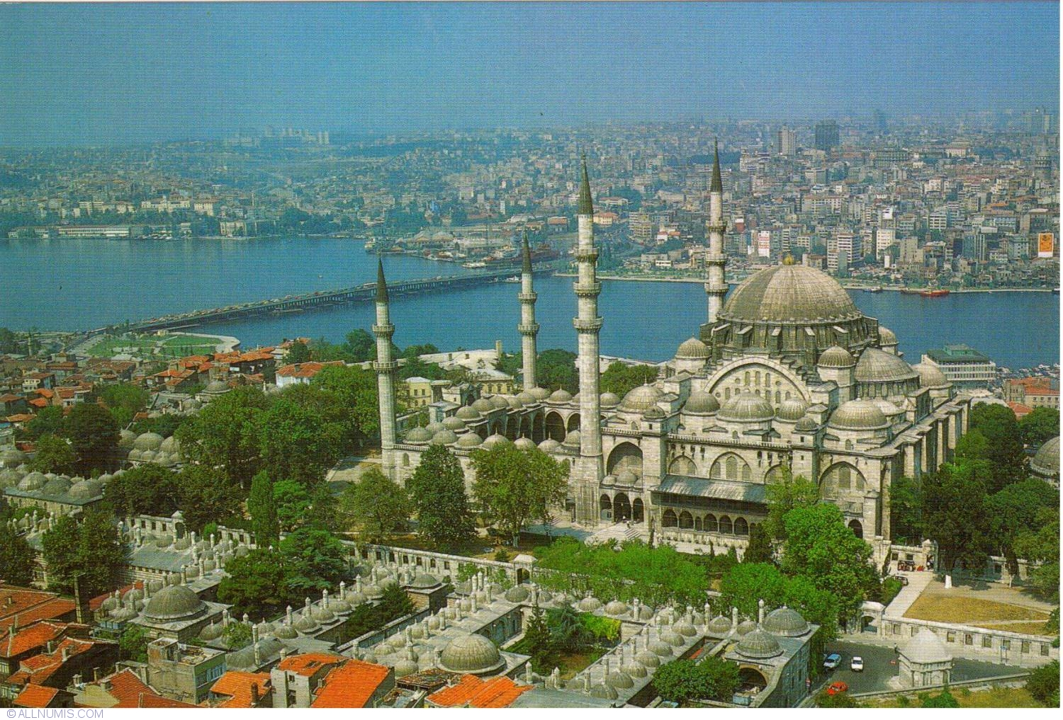 Istanbul - The Mosque of Sultan Süleyman the Magnificent ...