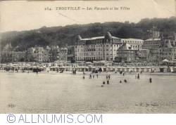 Imaginea #2 a Trouville - Umbrele şi Vile -  Les Parasols et les Villas