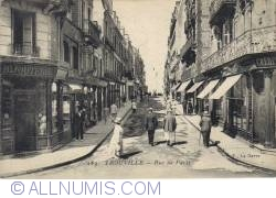 Trouville - Strada Paris - Rue de Paris