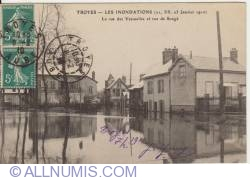 Troyes- Les inondations - 1910