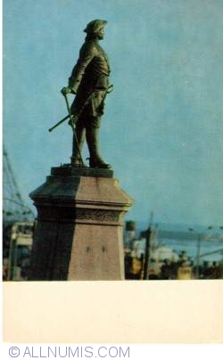 Image #1 of Arkhangelsk - Monument of thar Peter the Great - Belomorie 1973