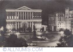 Image #2 of Moscow - The Soviet Square at night