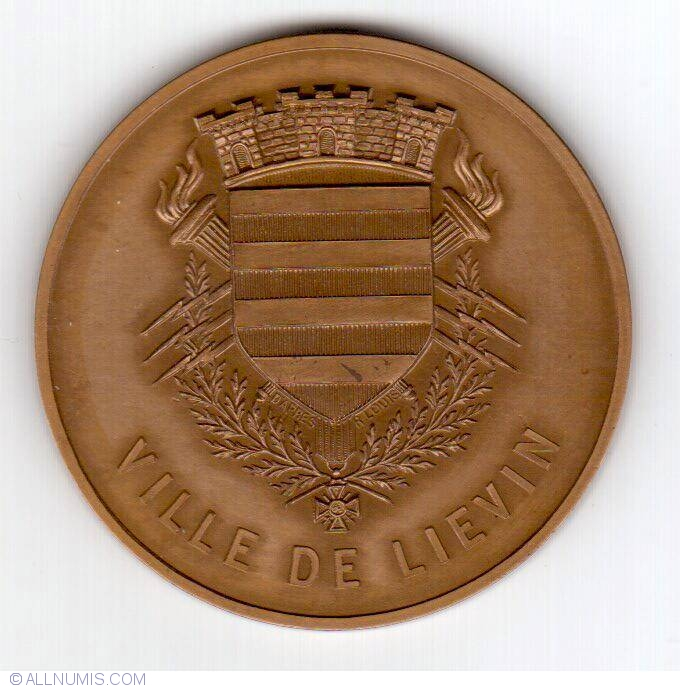 Ville de li vin cities france medal 29265 for Piscine lievin