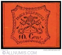 Image #1 of 10 cent. 1867 -  Franco Bollo Postale (Fake ?!)
