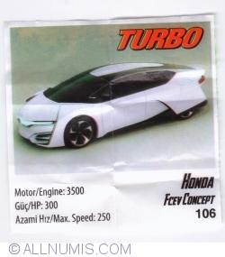 Image #1 of 106 - Honda FCEV Concept