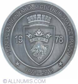 Image #2 of 110 anniversary Romanian Numismatic Society