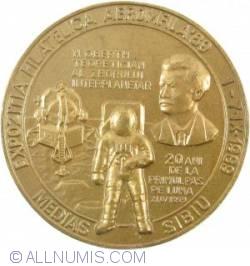 Imaginea #1 a Graf Zeppelin (60th) and Moon landing (20th) anniversaries