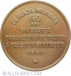 Imaginea #2 a Gheorghe Gheorghiu Dej – Cu ocazia implinirii a 60 de anidin partea organizatiei de partid a orasului Bucuresti,